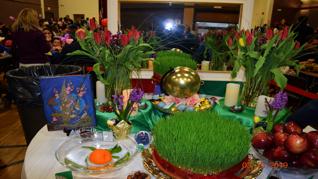 جشن  نوروزی کودکان در کانون ایرانیان بوستون
