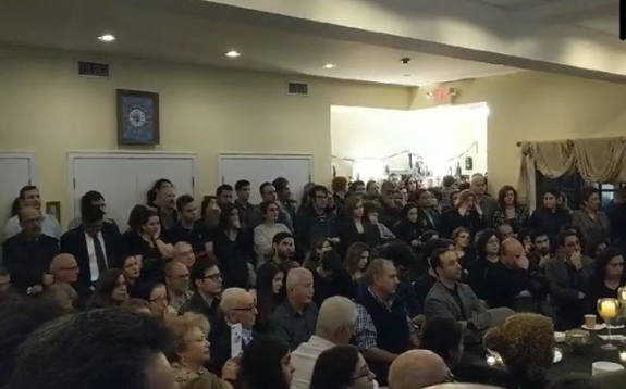 مجلس یاد بود به مناسبت سقوط هواپیمای اوکراین در کانون ایرانیان-بوستن